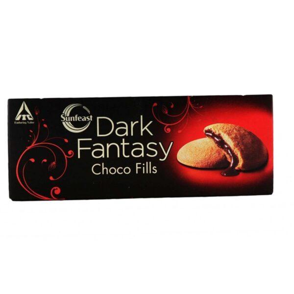 Sunfeast Dark Fantasy Choco Fills Cookies: 75 gm