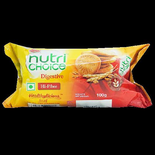 Britannia NutriChoice Digestive Hi-Fibre Biscuits: 100 gm